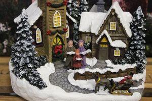 Svietiace vianočné dekorácie