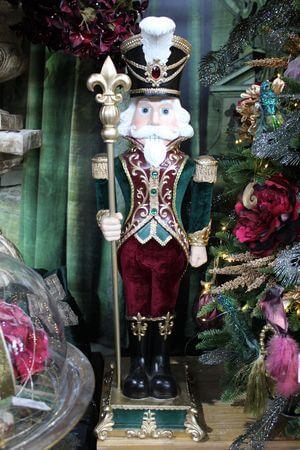 Farebný cársky exkluzívny luskáčik  92cm