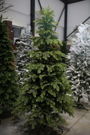 Zelený umelý vianočný 3D stromček Sibírsky 220cm