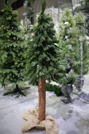 Vianočný stromček na pníku 150cm