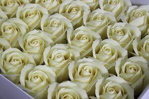Maslové mydlové ruže 50ks 6cm