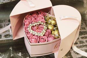 Mydlové ruže v boxe