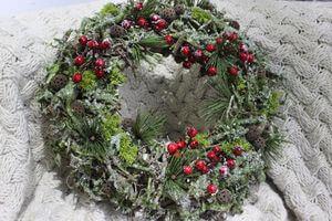 """Veniec vianočný ,,Les"""", 56 cm"""