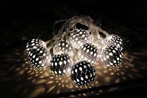 Vianočné svetelné reťaze