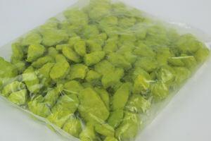 Zelené veľké dekoračné kamene 1kg