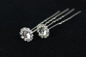 Luxusné spony s diamantom 20 ks