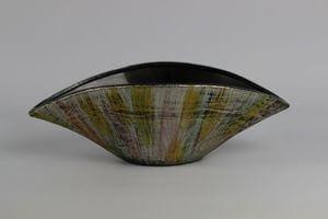 Žíhaná keramická váza 31cm
