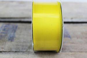 Žltá saténová stuha 4 cm x 10 m