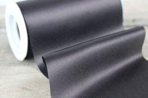 Čierna saténová stuha 48cm x 10m