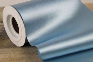 Modrá saténová stuha 48cm x 10m
