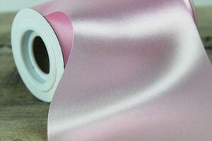 Ružová saténová stuha 48cm x 10m