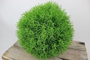 Zelená umelá krušpánová guľa 30cm