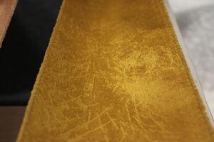 Zlatá tmavá zamatová stuha šírka 12cm