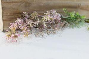 Ružová umelá lúčna rastlinka 53cm