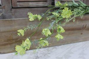 Zelená umelá kytička z lúčnych kvetov 58cm