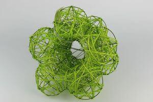 Zelené držiaky na kytice 3 ks