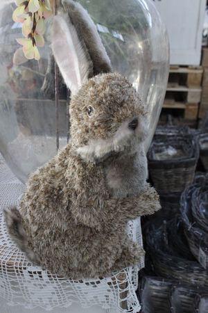 Hnedý veľkonočný zajac 41cm