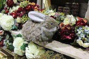 Hnedý veľkonočný zajačik 26cm