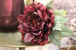 Bordová ruža na stopke 75cm
