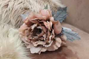 Oranžová sametová ruža 14cm